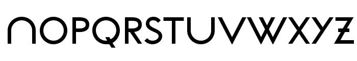 NeoGothisADFStd-DemiBold Font UPPERCASE