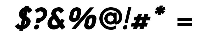 NeoGothisADFStd-ExtraBdOblique Font OTHER CHARS