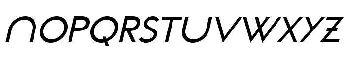 NeoGothisADFStd-MediumOblique Font UPPERCASE