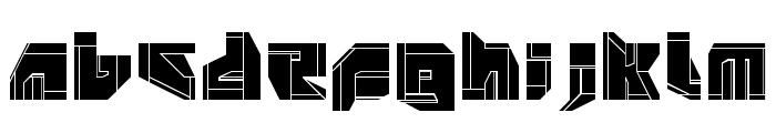 NeoPangaia[p2] Font UPPERCASE