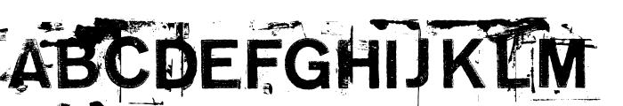 NeoPrint M319 Font UPPERCASE