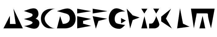 NeoSpacial Font UPPERCASE