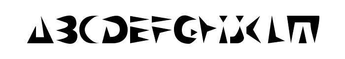 NeoSpacial Font LOWERCASE