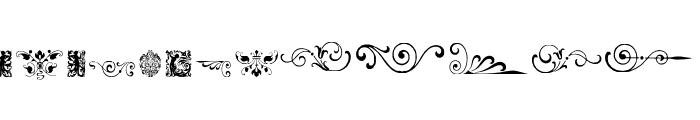 NeoclassicFleuronsFree Font LOWERCASE