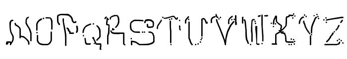Neomarkerism Font UPPERCASE