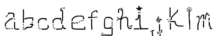 Neomarkerism Font LOWERCASE