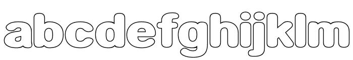Neon Feel Font LOWERCASE