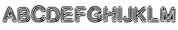 NeonDisco Font UPPERCASE
