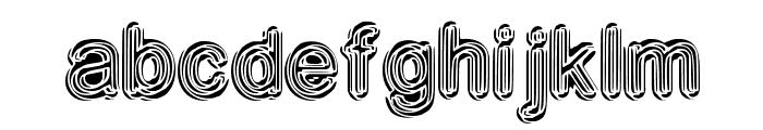 NeonDisco Font LOWERCASE