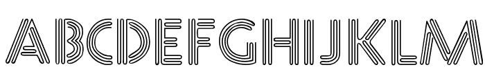 Neone Regular Font LOWERCASE