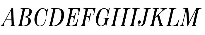 NeoplantaBG-Italic Font UPPERCASE