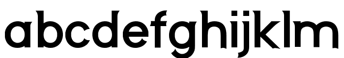 Neos Bold Font LOWERCASE