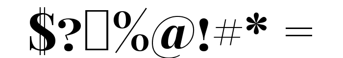 Neothic Font OTHER CHARS