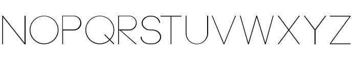 Neou Thin Font LOWERCASE