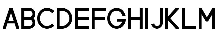 Neovix Basic Bold Font UPPERCASE