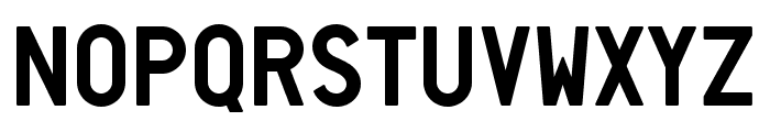 Neozoic Trial Font LOWERCASE