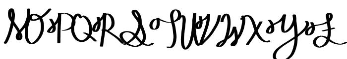Nepeta Font UPPERCASE