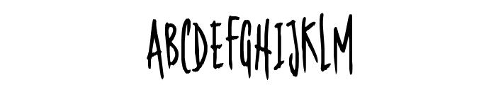 Nerdproof Font UPPERCASE