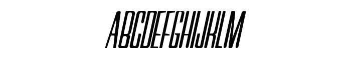 Neretta Italic Font UPPERCASE