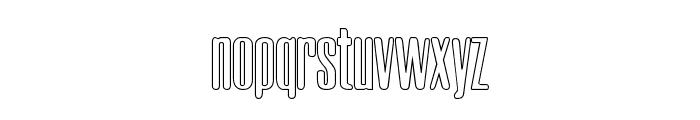 Neretta Outline Font LOWERCASE