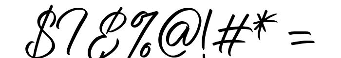 Nermola Script Regular Font OTHER CHARS