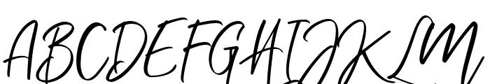 Nermola Script Regular Font UPPERCASE