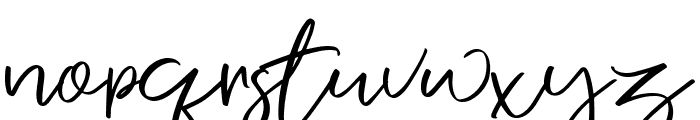 Nermola Script Regular Font LOWERCASE