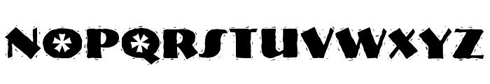 NervouzReich Rank Font UPPERCASE