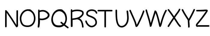 Ness Font UPPERCASE