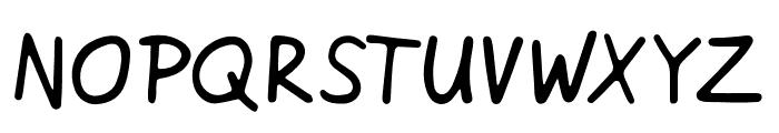 Netsrak Font UPPERCASE
