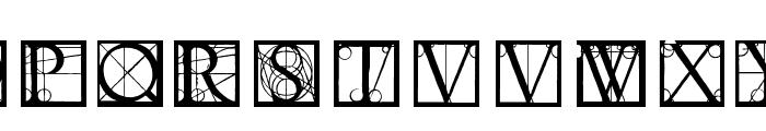 Neudoerffer Font UPPERCASE