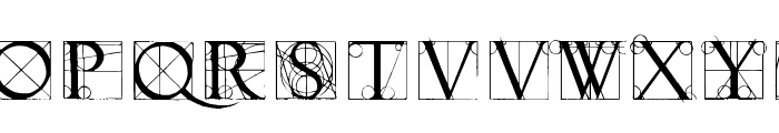 NeudoerfferScribbleQuality Font LOWERCASE