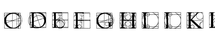 Neudoerffer Font LOWERCASE