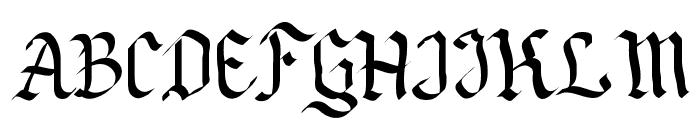 Neue Goth Font UPPERCASE