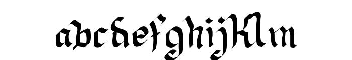 Neue Goth Font LOWERCASE