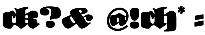 NeueFrakturExtraBold Font OTHER CHARS
