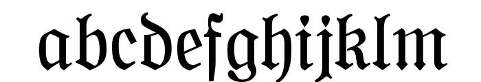 NeueFraktur Font LOWERCASE