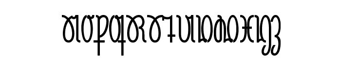 NeueRudelskopf-Bold Font UPPERCASE