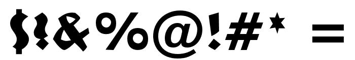 NeulandOpti-Light Font OTHER CHARS