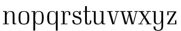 Neumann Font LOWERCASE