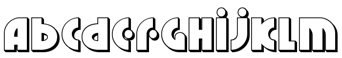 Neuralnomicon 3D Font LOWERCASE