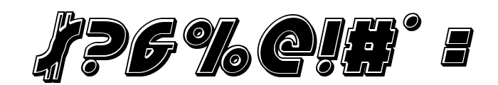 Neuralnomicon Bevel Italic Font OTHER CHARS