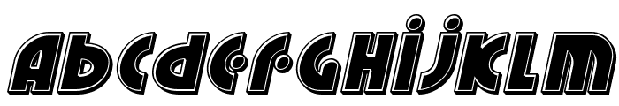 Neuralnomicon Bevel Italic Font LOWERCASE