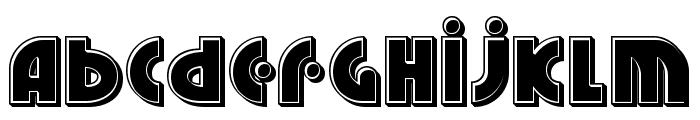 Neuralnomicon Bevel Font LOWERCASE