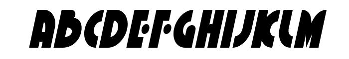 Neuralnomicon Condensed Italic Font UPPERCASE