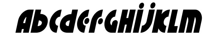 Neuralnomicon Condensed Italic Font LOWERCASE