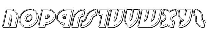 Neuralnomicon Engraved Italic Font LOWERCASE