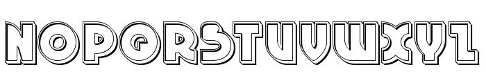 Neuralnomicon Engraved Font UPPERCASE