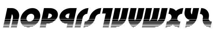 Neuralnomicon Halftone Italic Font LOWERCASE