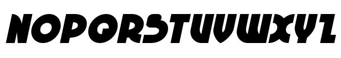 Neuralnomicon Italic Font UPPERCASE